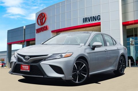 New 2020 Toyota Camry XSE FWD 4