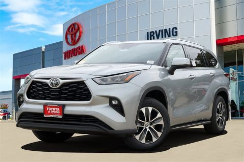 New 2020 Toyota Highlander Xle Awd 4