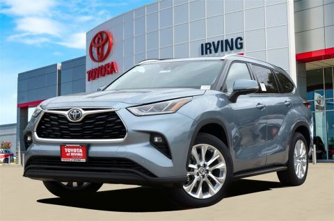 New 2020 Toyota Highlander Limited FWD 5