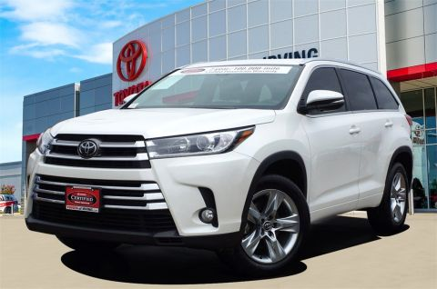 Certified Pre-Owned 2017 Toyota Highlander Limited FWD 4D Sport Utility