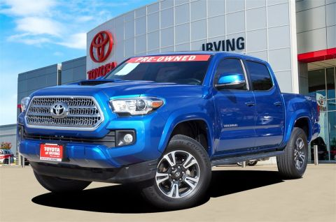 Pre-Owned 2017 Toyota Tacoma TRD Sport 4WD 4D Double Cab
